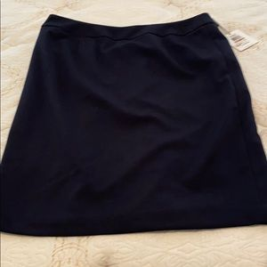 Women's navy skirt size 12